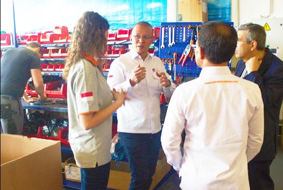 Factory Visit ke Pabrik Delfin di Italia
