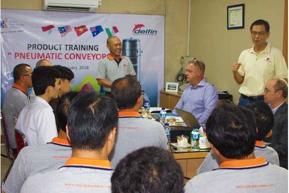 Delfin Pneumatic Conveyor Open Discussion & Sharing