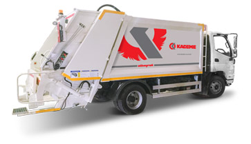 KDM – G SERIES HYDRAULIC GARBAGE COMPACTOR