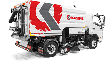 Vacuum Type Road Sweeper